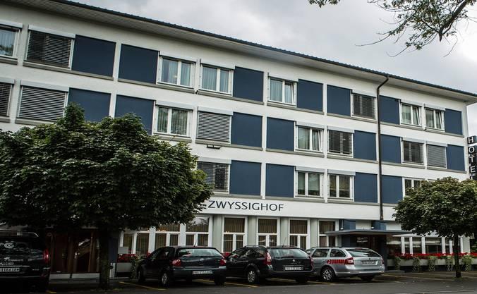 Treffpunkt des Wettinger Lebens: Das Hotel und Restaurant Zwyssighof. Chris Iseli