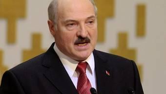 Der weissrussische Präsident Alexander Lukaschenko (Archiv)
