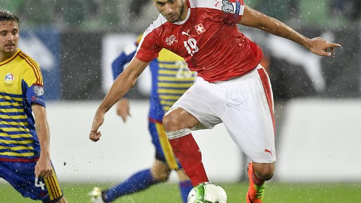 Eren Derdiyok bestritt zwischen 2008 und 2017 60 Länderspiele für die Schweiz