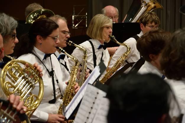 Sax-Register der Harmonie Gerlafingen