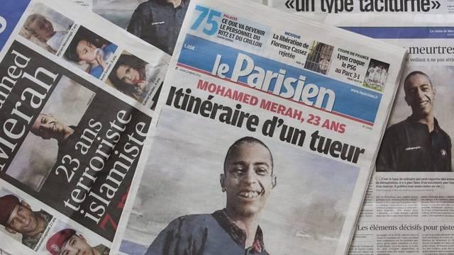 Mohamed Merah (im Bild) ist laut der französischen Regierung ein Einzeltäter (Archiv)
