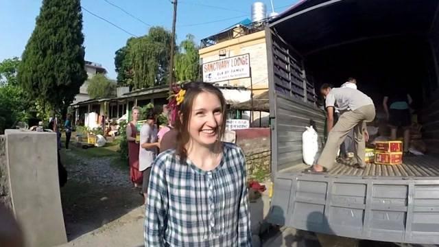 Aargauerin hilft das Dach der Welt zu reparieren