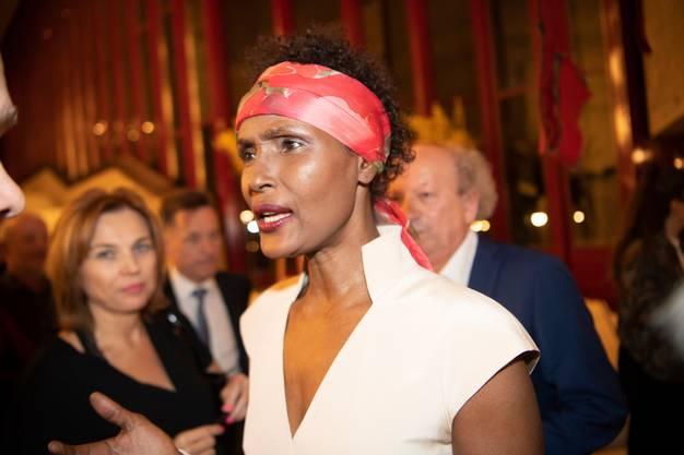 Autorin Waris Dirie war an der Premiere ebenfalls zugegen.