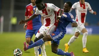Basel kommt gegen Sion nicht über 1:1 hinaus