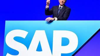 Voller Zuversicht: SAP-Chef Bill McDermott. (Archiv)