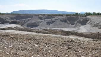 Die Holcim Kies und Beton AG möchte den Kiesabbau erweitern, weil die heutigen Reserven bald erschöpft sind. mhu