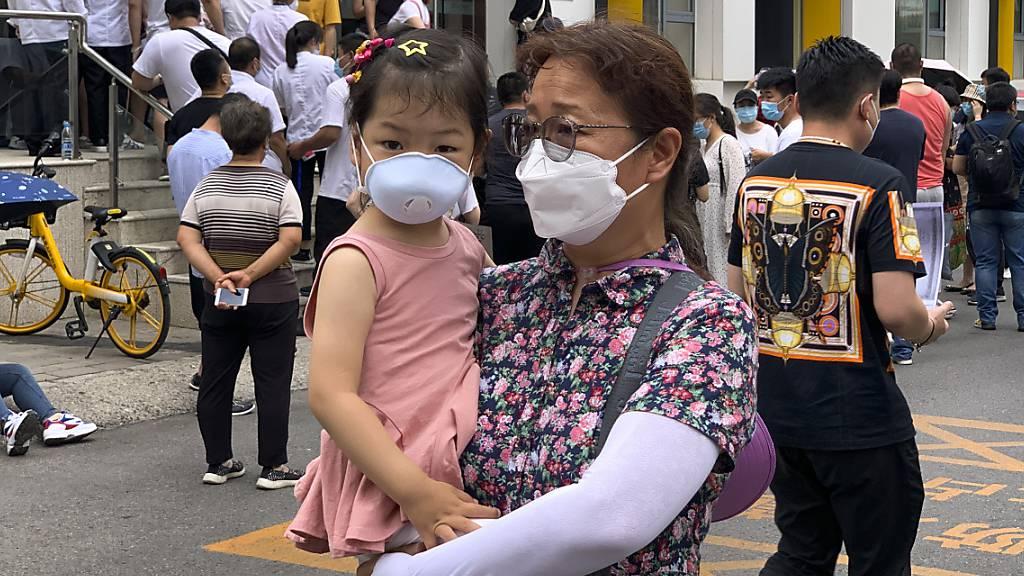 In Peking steigen die Infektionszahlen weiter