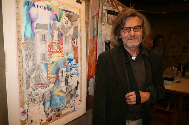 Der Künstler Dieter von Arx war Gast beim Bewohnerverein.