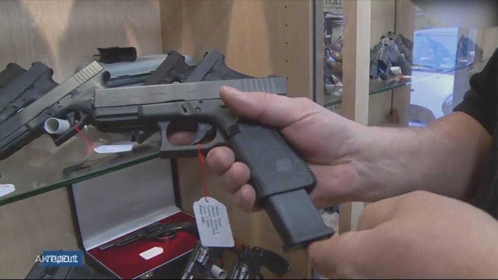 Schiesserei zwischen Einbrechern und Waffenladenbesitzer in Wallbach