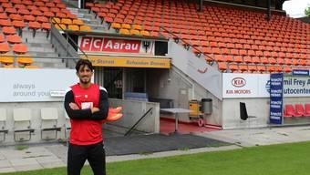 Frank Feltscher möchte schon am Freitag beim Testspiel gegen Biel für den FC Aarau auflaufen.