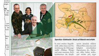Hochgeheim und hochbrisant: Die Invasion des Wasseramts, die Operation Willküre, wird geplant. zvg