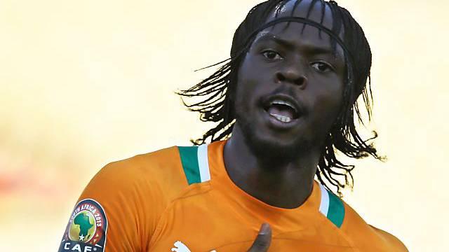 Der Ivorer Gervinho bester Mann auf dem Platz.