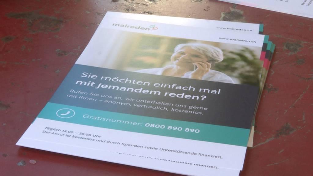 """""""malreden""""-Projekt: Dank den Gesprächsangeboten von """"malreden"""" sollen sich SeniorInnen weniger einsam fühlen"""