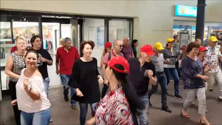 Flashmob swissdance Lenzburg