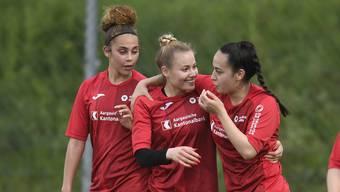 Die FC Aarau Frauen können mit der Saison zufrieden sein.