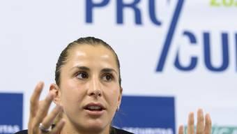 Belinda Bencic gibt ihren Verzicht auf das US Open bekannt. (Archivbild)