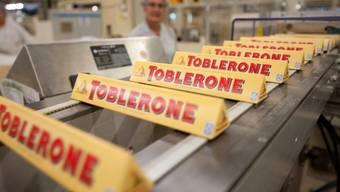 Kraft Foods stellt unter anderem auch Toblerone her