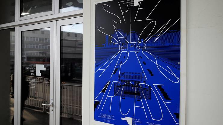 Spielsalon Art & Arcade - die neue Ausstellung im Haus für elektronische Künste in Basel. Es wird die letzte sein vor dem Umzug ins neue Haus.
