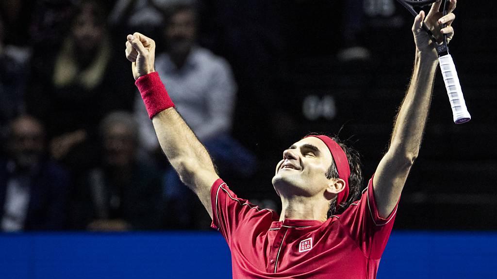 Federer zum 18. Mal in Folge beliebtester Spieler