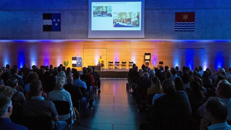 Über 300 Besucher des Sport Forums Aargau verfolgten die bewegenden Vorträge der fünf Referenten.
