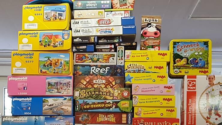 Spiele und Spielsachen für Gross und Klein!