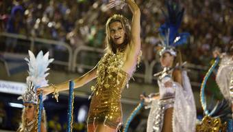 Gisele Bündchen am Karneval in Rio