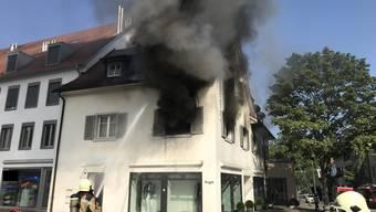 Hausbrand in Arlesheim