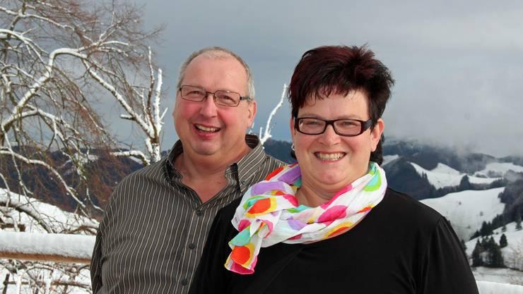 Rita und Blasius Hänggi-Saner aus Nunningen freuen sich auf ihren neuen Lebensabschnitt auf dem Erzberg.