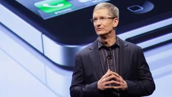 Tim Cook präsentiert zum ersten Mal ein neues Apple-Produkt (Archiv)