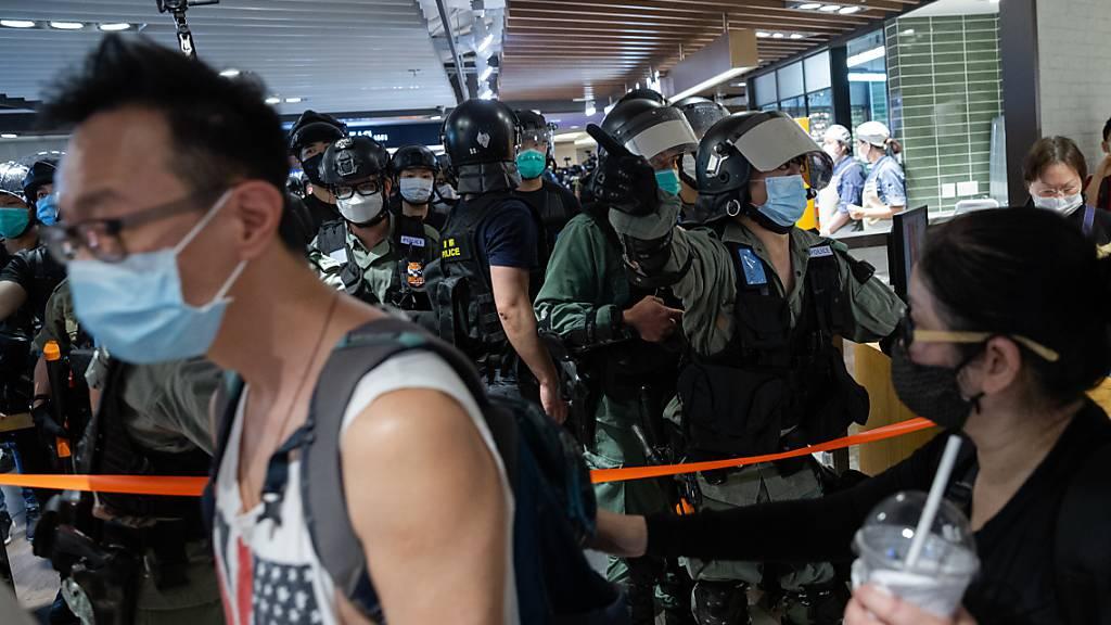 Neue Proteste in Hongkong während Corona-Krise