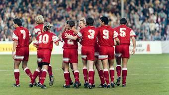 1991 gewann die Schweizer Nationalmannschaft gegen San Marino gleich mit 7:0