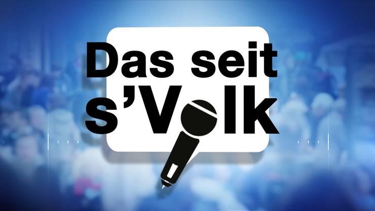 Immer sonntags ab 18 Uhr in der Sendung Aktuell auf Tele M1: «Das seit s'Volk».