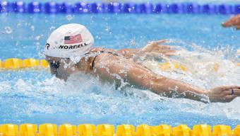 Gehört dem US-Mixed-Quartett an, das in der 4x100-m-Lagenstaffel Weltrekord schwamm: Kelsi Worrell