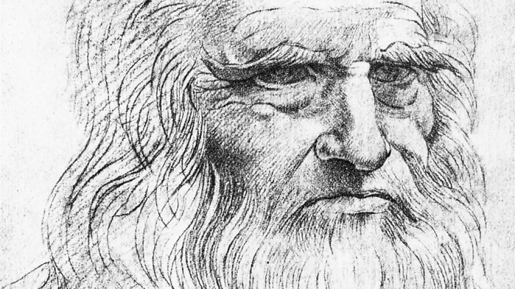 Ein Porträt des Universalgelehrten Leonardo da Vinci: Ahnenforscher untersuchten seinen Stammbaum und fanden heraus, dass er mindestens 22 Halbbrüder, aber keine Kinder hatte. (Archivbild)