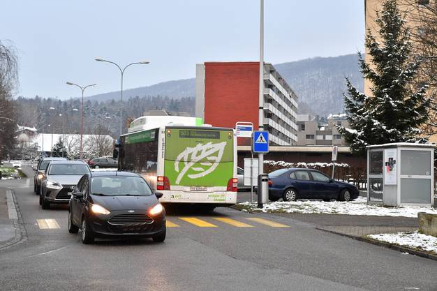 Bushaltestellen BOGG Höhenstrasse und Feldstrasse