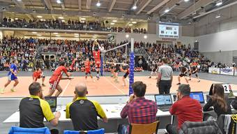 Eröffnungsspiel Betoncoupe Arena in Schönenwerd