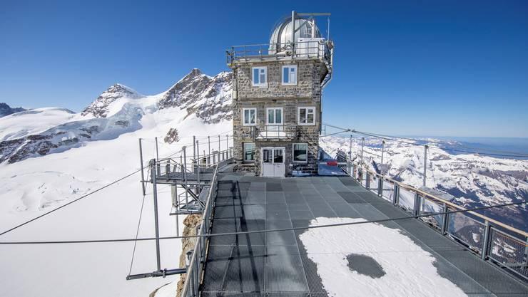 Bilder wie dieses gehören bald der Vergangenheit an: das verwaiste Jungfraujoch.