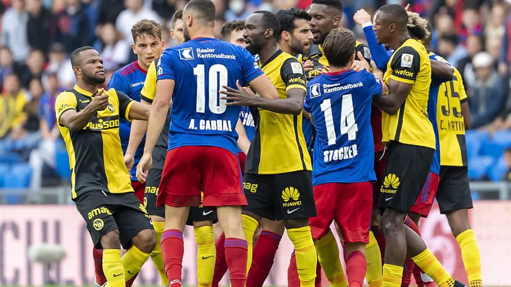 Ein Kampf ohne Sieger: Basel und YB gehen ohne Sieger im Kräftemessen auseinander