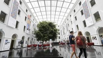 Die neuen Gebäude der Welthandelsorganisation in Genf waren am Sonntag erstmals für die Bevölkerung geöffnet