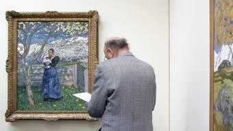 Giacomettis Bild wurde für viel Geld verkauft. Hier im Bild: Mutter mit Kind unter Blütenbaum (Archiv)