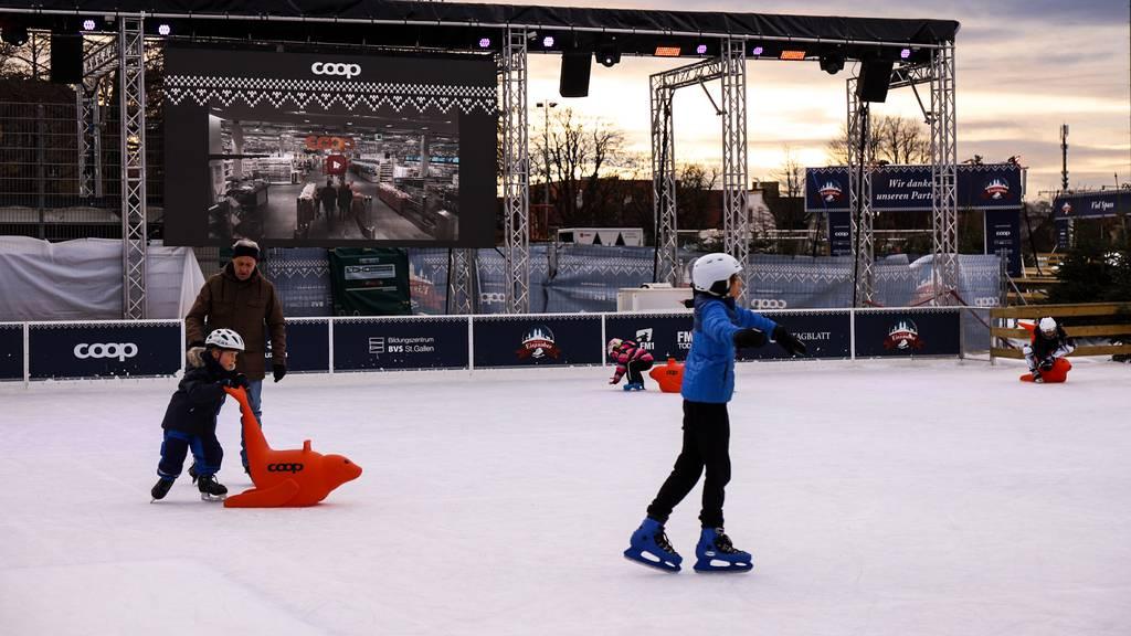 50'000 Ostschweizer besuchen den Eiszauber