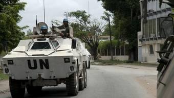 UNO-Blauhelme im Einsatz in der Elfenbeinküste