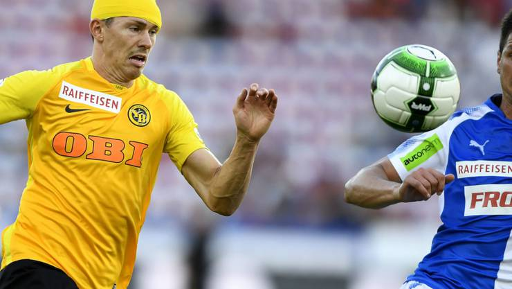 Zeigte beim 4:0-Auswärtssieg der Young Boys gegen die Grasshoppers nicht nur wegen seiner zwei Tore eine starke Leistung: Christian Fassnacht