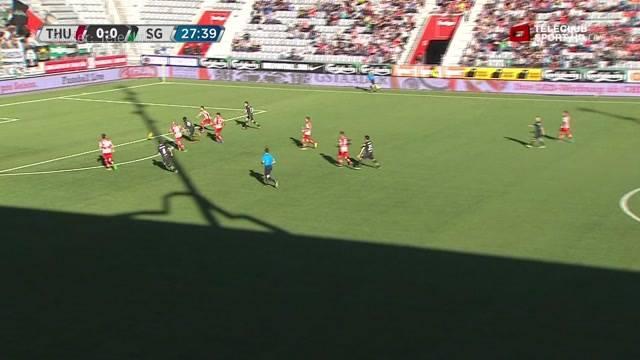 FC Thun unterliegt FC St. Gallen