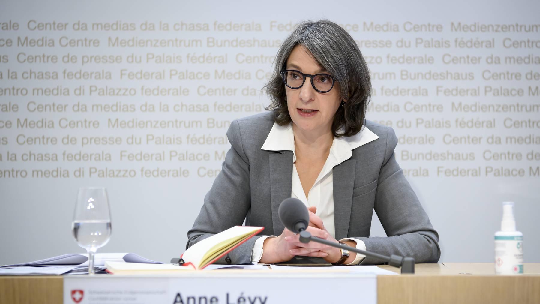 Anne Levy, Direktorin, Bundesamt fuer Gesundheit BAG