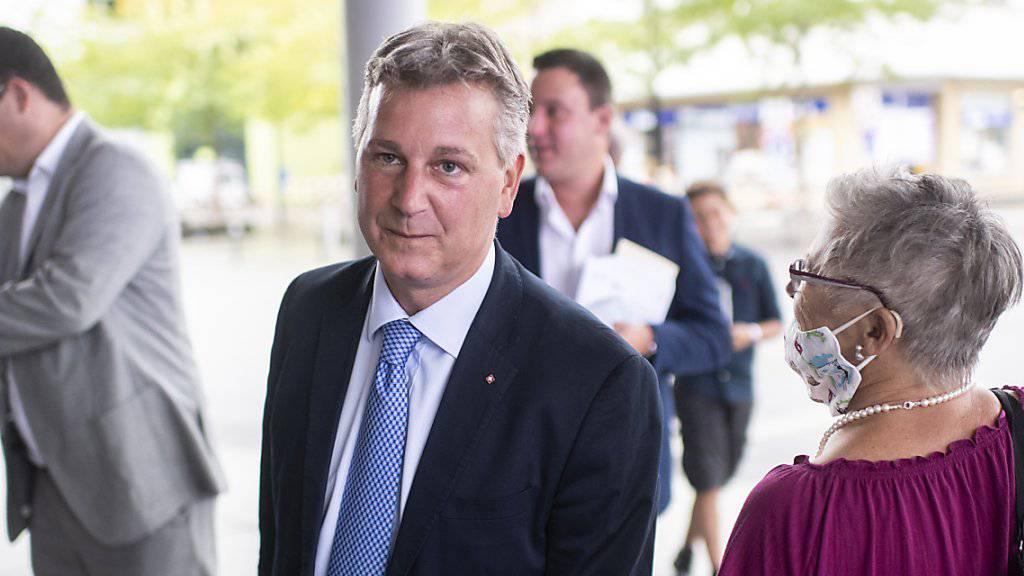 Marco Chiesa ist neuer Präsident der SVP