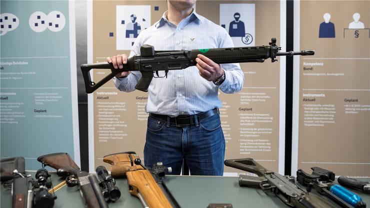 Das Sturmgewehr löst Emotionen aus.