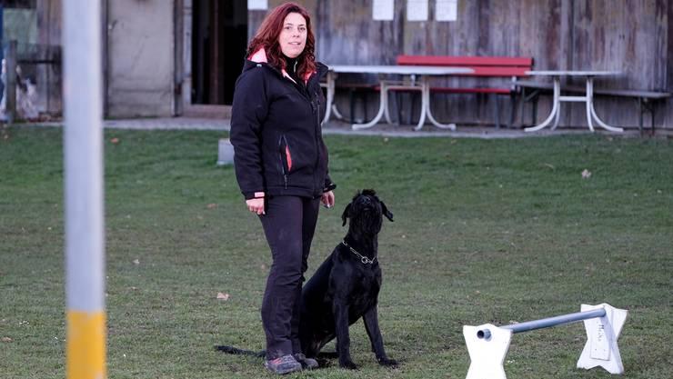 Martina Hoppler und ihr Verein trainieren künftig in der Wöschnau.