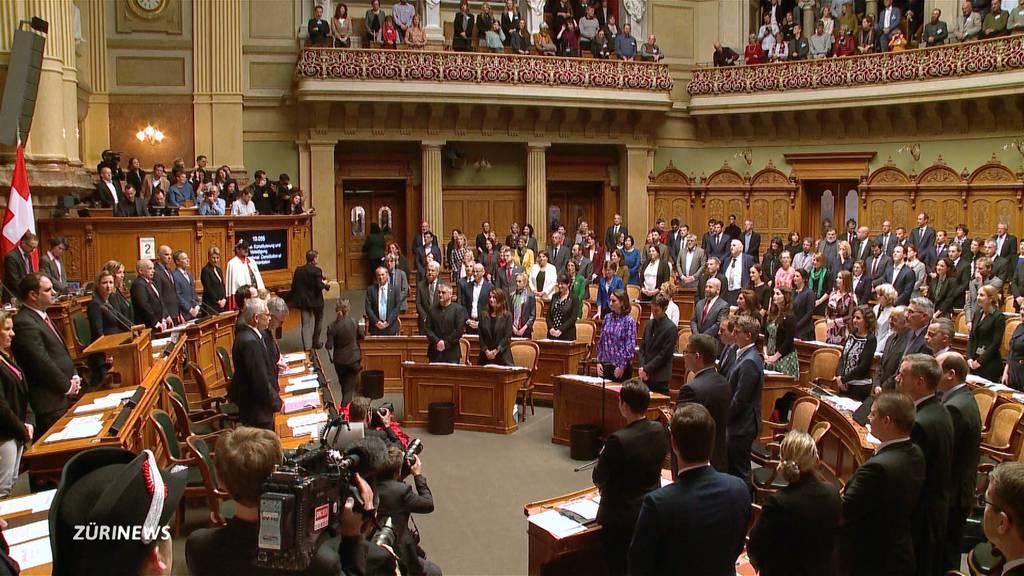 Arbeitsbeginn für viele neue Parlamentarier