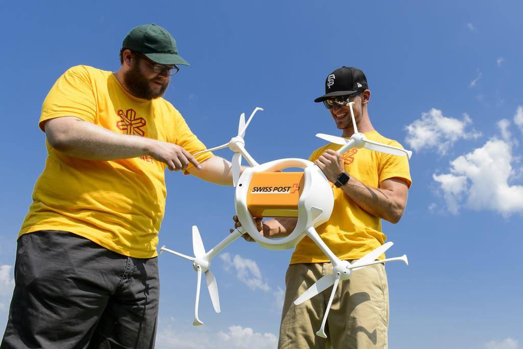 Drohnen in der Schweiz (© ky)